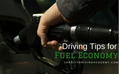 Driving Tips for Fuel Economy