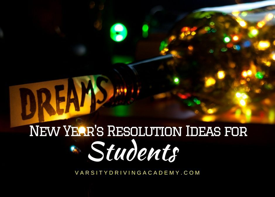New Years Resolution Ideas for Students