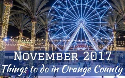 November 2017 Things to do in Orange County for Teens
