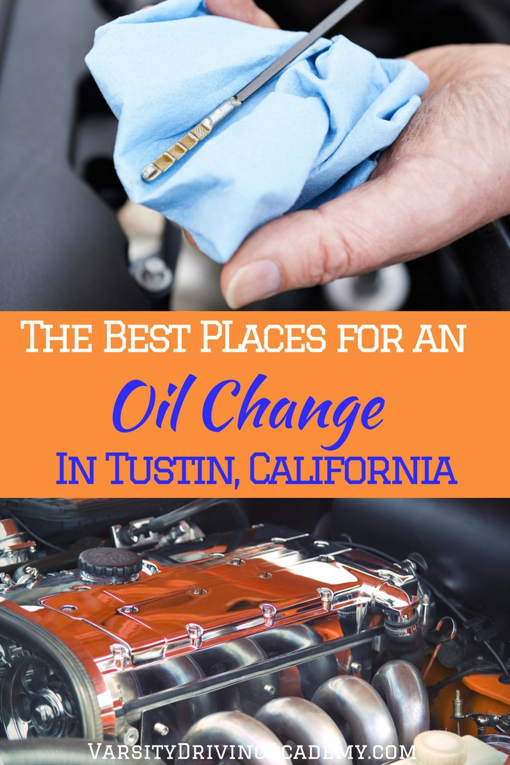 Choose from the best places to get an oil change in Tustin California next time your oil light comes on and you need to get it done.