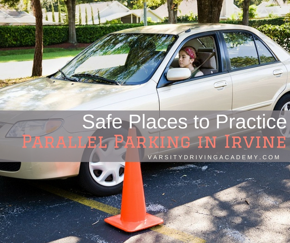 safe places to practice parallel parking in irvine varsity driving academy. Black Bedroom Furniture Sets. Home Design Ideas