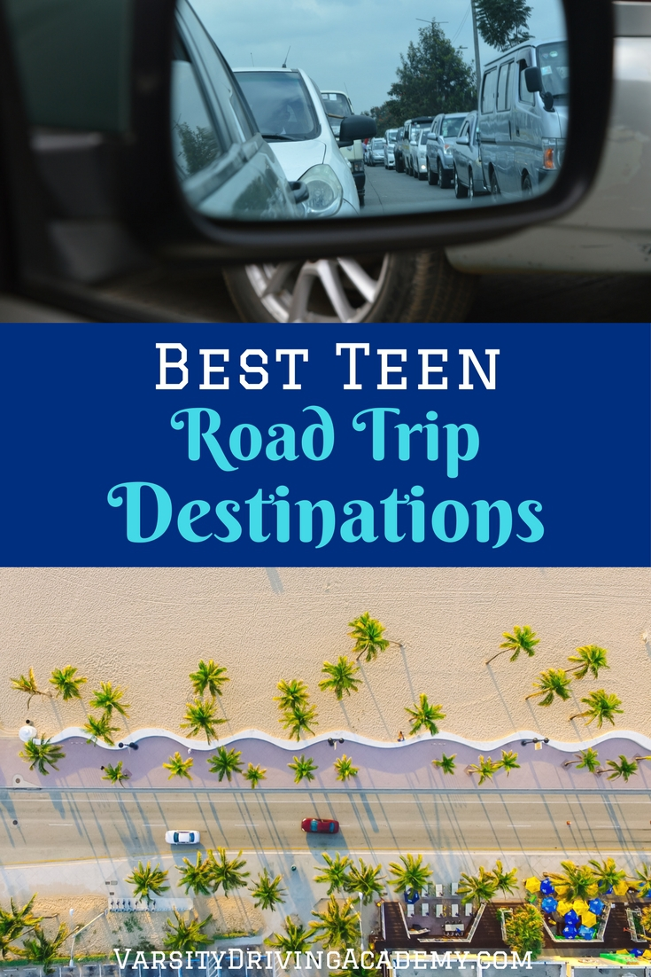 Pick one or more teen road trip destinations and let your teen take the wheel as they travel through new experiences and sights across the country.
