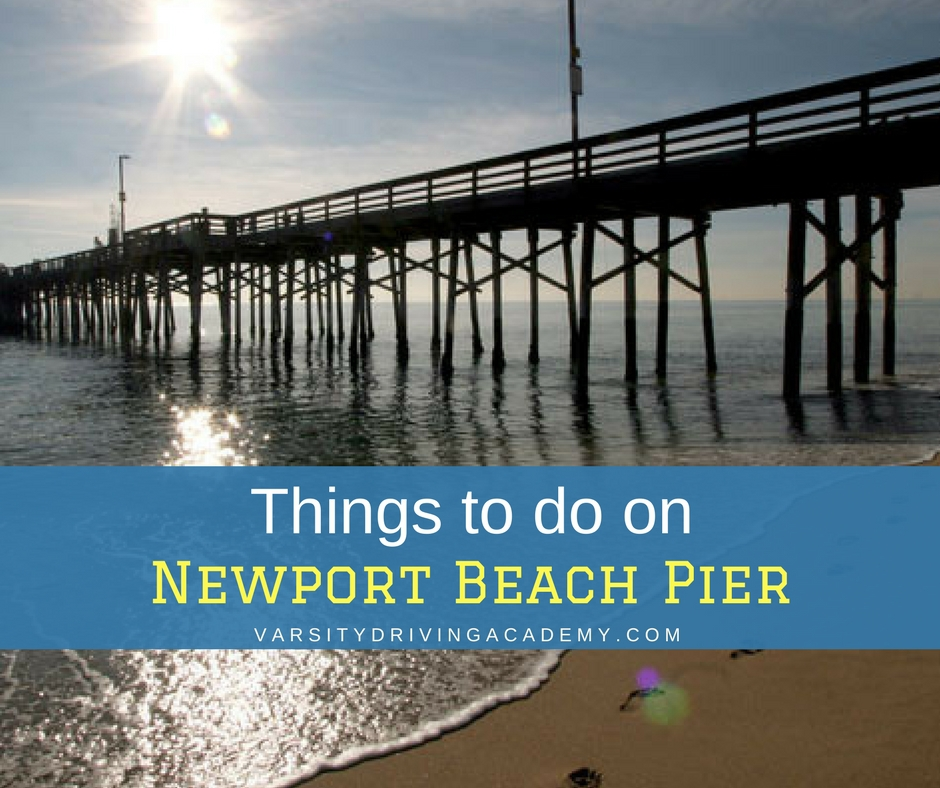 10 Things To Do On Newport Beach Pier Varsity Driving Academy