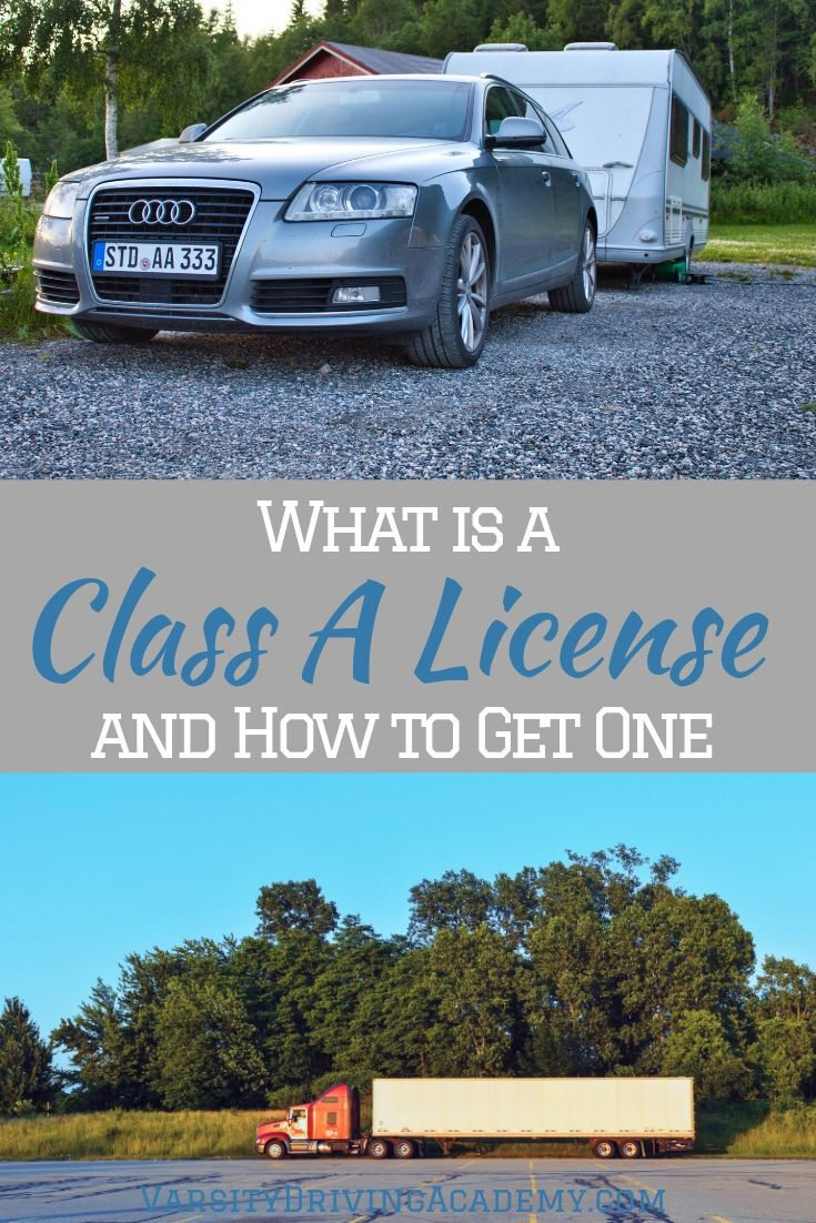 There are different types of driver's licenses in California and a Class A license is one of them. But what is it and why would you want it?