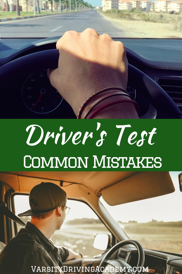 You may want to know what the most common mistakes made during a driving test to help you better prepare for what's to come.