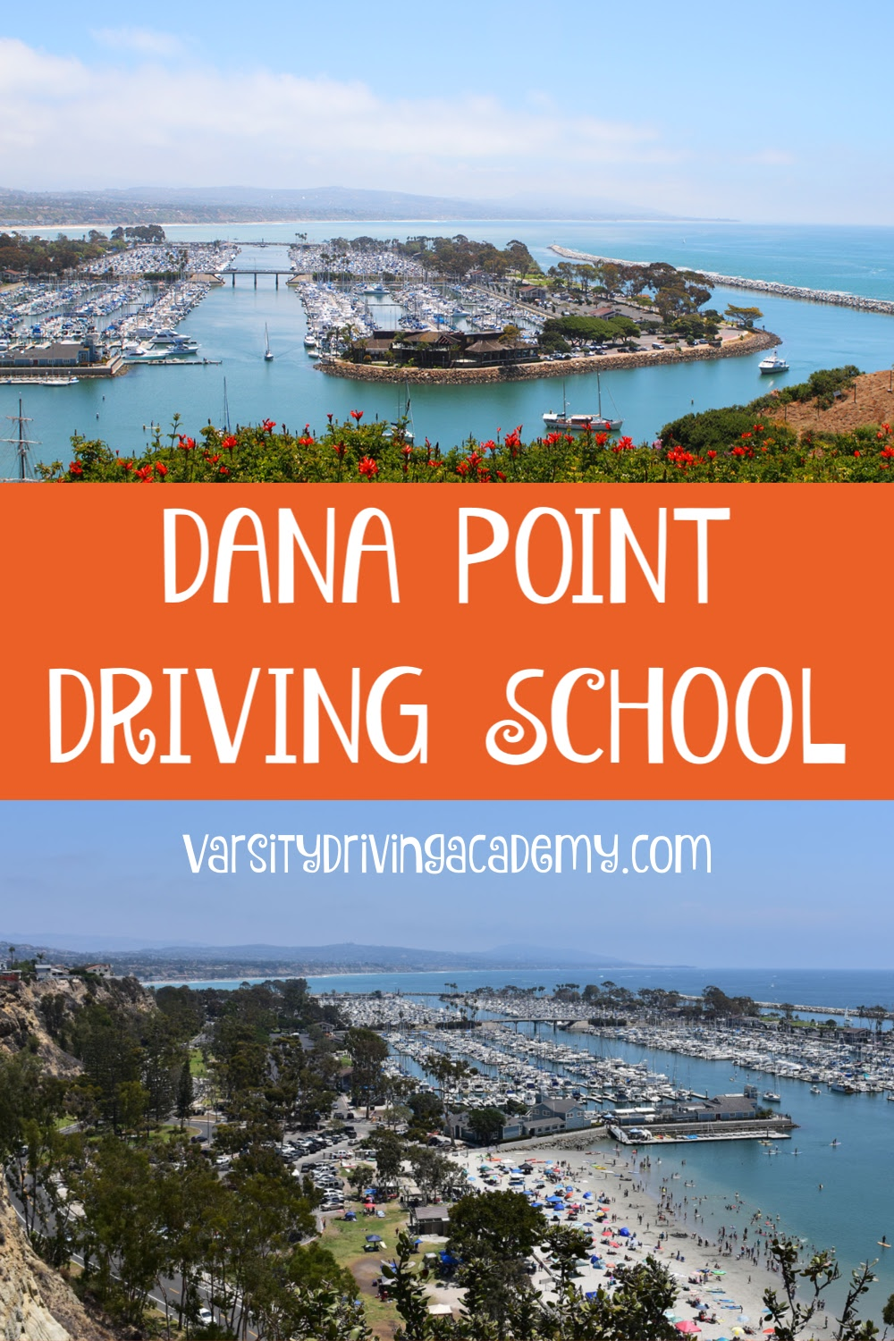 Varsity Driving Academy is the best Dana Point driving school. You will want your Dana Point driver's ed to be from the best so you can drive in Orange County like the best.