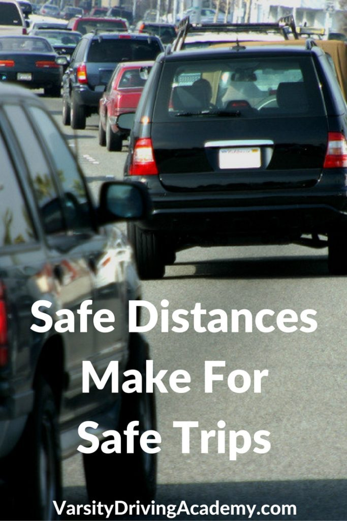 Keeping distance around your vehicle is step one to defensive driving and is the most important trait of a good and safe driver.