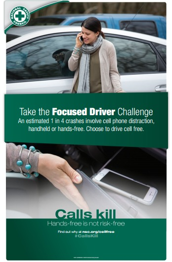 Distracted Driving Poster