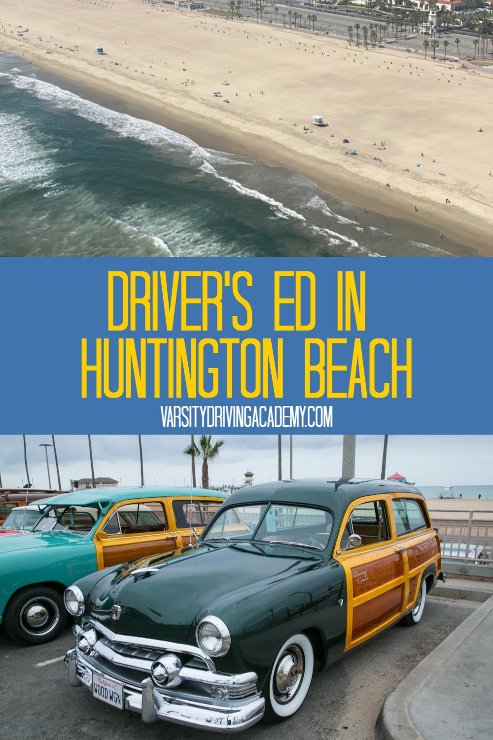 The best drivers ed in Huntington Beach where you can learn how to drive in Orange County safely and confidently so you can pass your test at the Huntington Beach DMV.