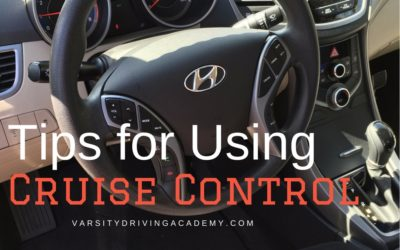 Tips for Using Cruise Control