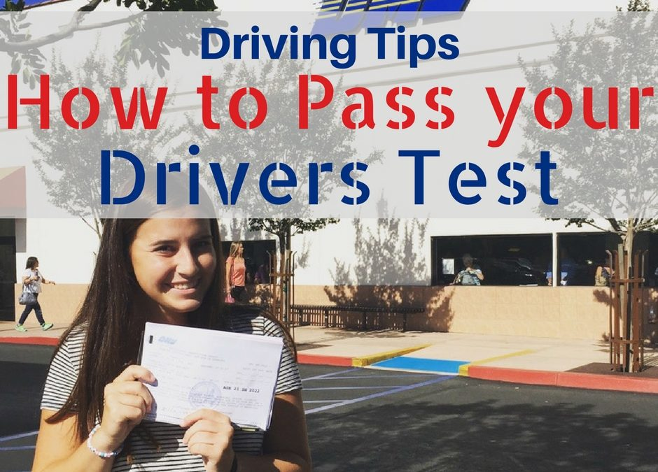 Driving Tips to Pass Driving Test