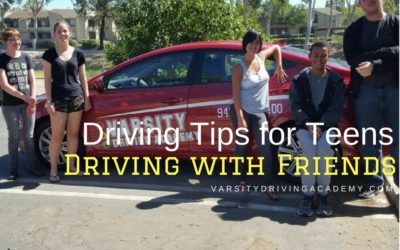 Tips for Teens Driving With Friends