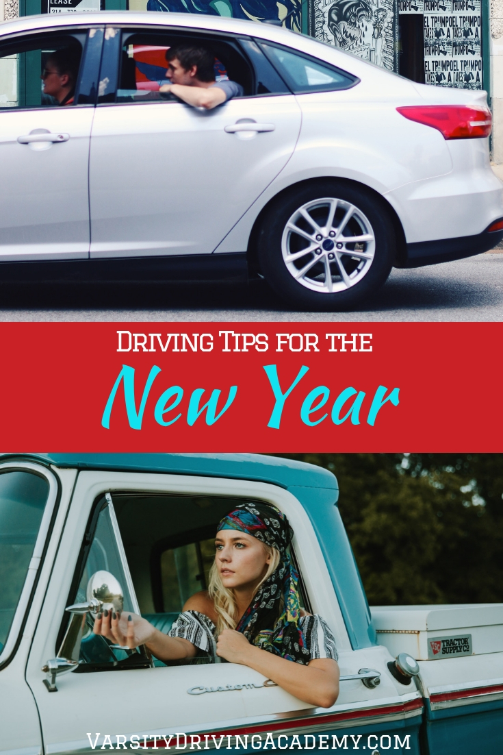 New Year's resolutions can help you utilize some easy tips for driving into the new year and help you make it through 2019 without an accident.