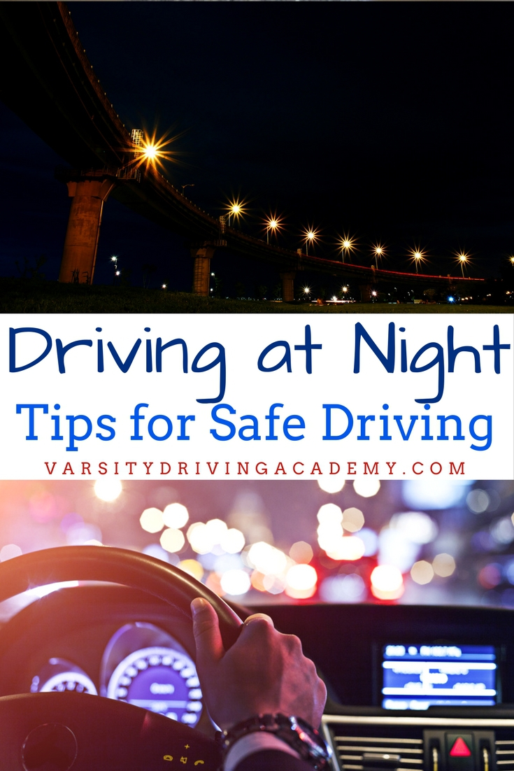 To get started, follow some of the best tips for driving at night that will help keep you as safe as possible while practicing.