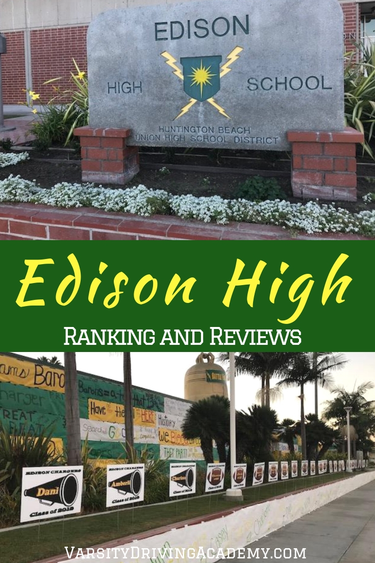 Learning about the Edison High School ranking, parents and students can make a decision and find out if it is the right school for them.