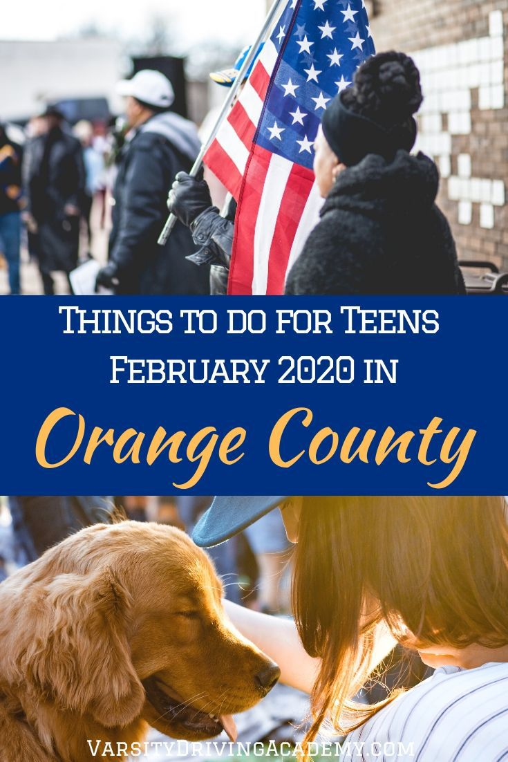 Feb 2020 things to do for teens in Orange County are filled with lessons, food, excitement, and of course, a bit of walking.