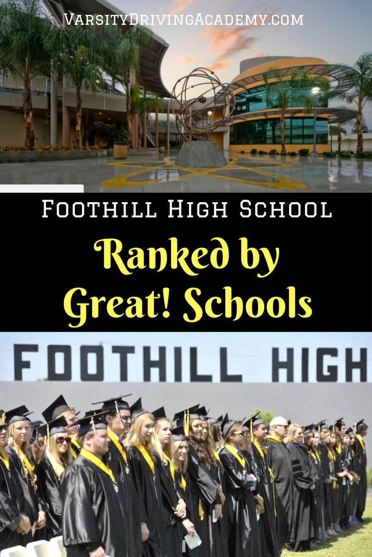 Foothill High School gets a 9/10 from Great! Schools and that ranking is well deserved due to many different aspects of the school.