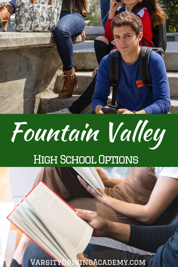 Are you ready to figure out what your Fountain Valley high school attendance options are before going to register for classes?