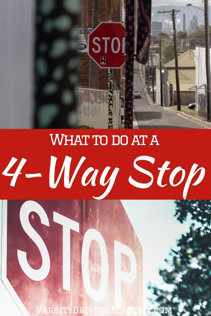 Having the four way stop explained to a better point of understanding will help keep you safe as well as others on the road.