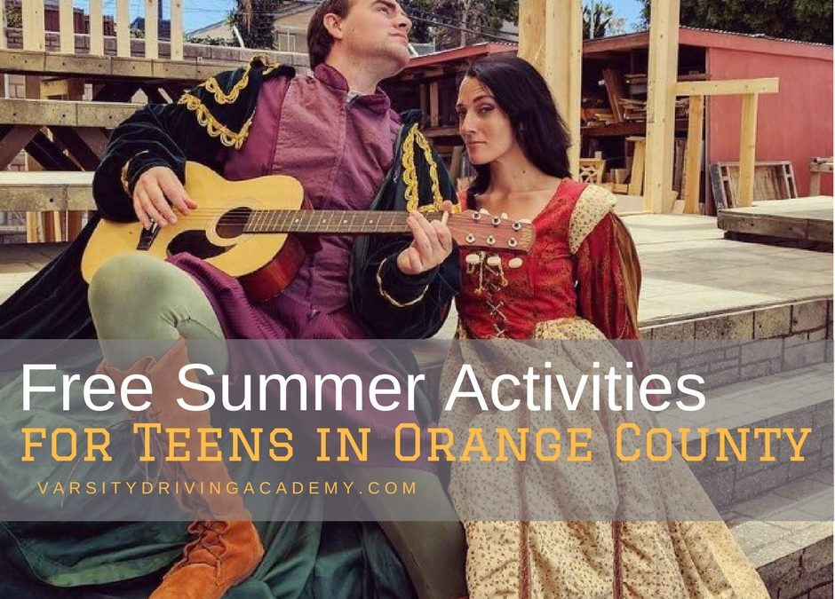 Teens Free Summer Activities For 34