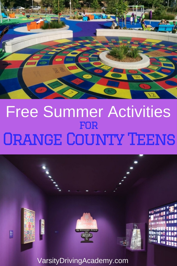 There are many free summer activities for teens in Orange County like the beaches or the malls but how about something a little more fun?