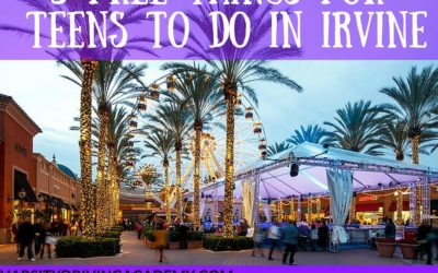 5 Free Things For Teens To Do In Irvine