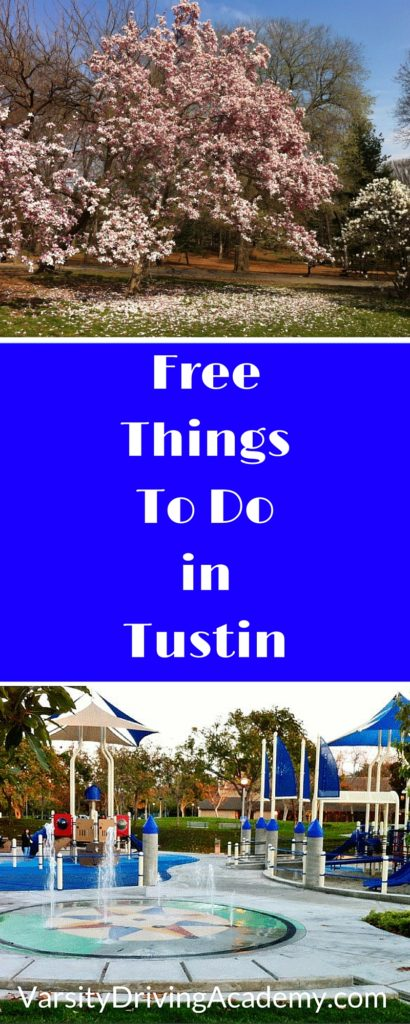 Having free things to do in Tustin showcases the sense of community that is prevalent in the town. Family friendly fun in a family friendly area.