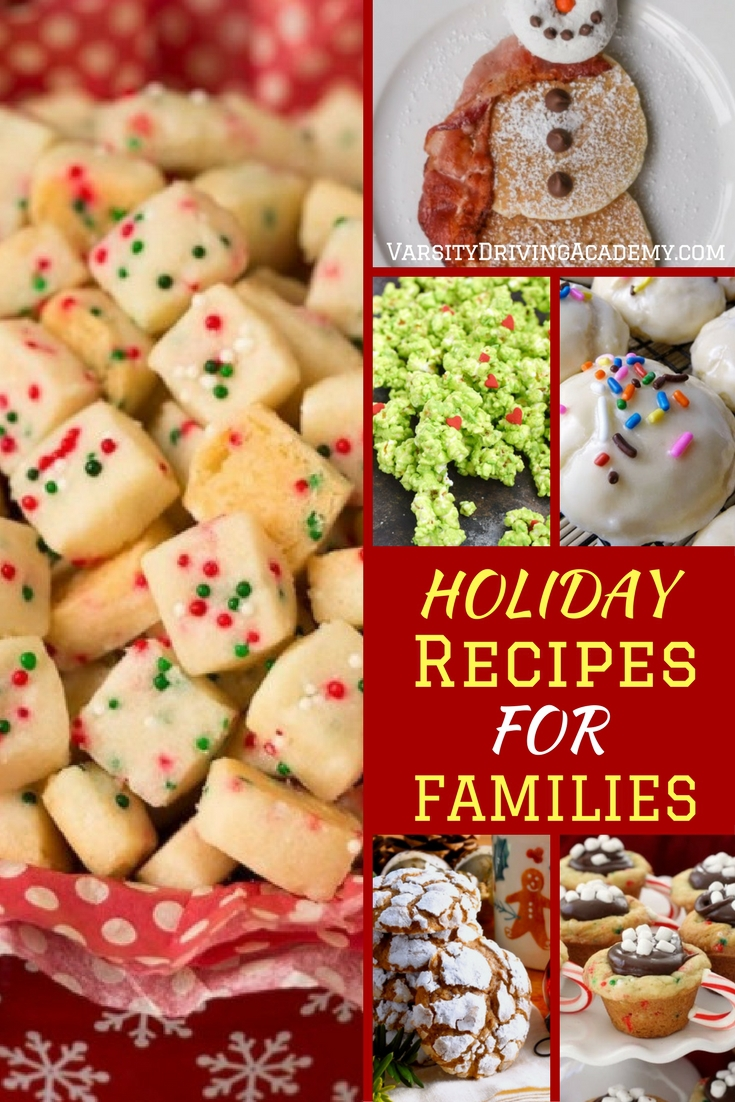 Decorating your home for the holidays is one thing but nothing can replace the scents and tastes of fun holiday recipes for the family.