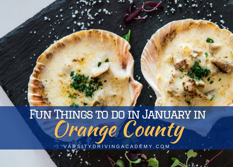 Orange County Events in January 2018