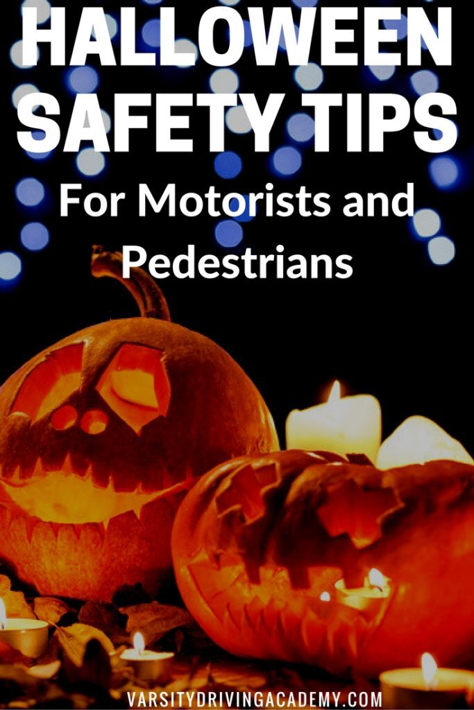 Staying safe on Halloween is more than just avoiding ghosts and ghouls while out and about, Halloween safety tips entail driving and walking.