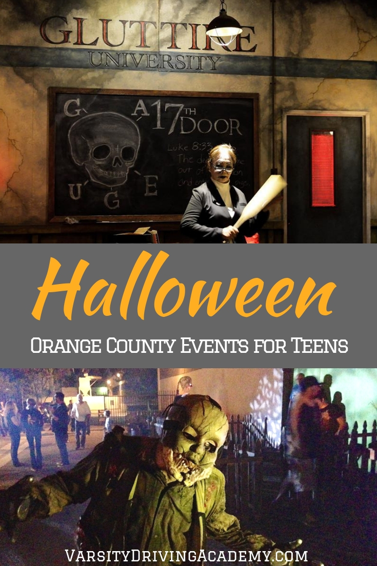 Attend the best Halloween events in Orange County for teens this year and kick off the holiday season on a spooky foot.