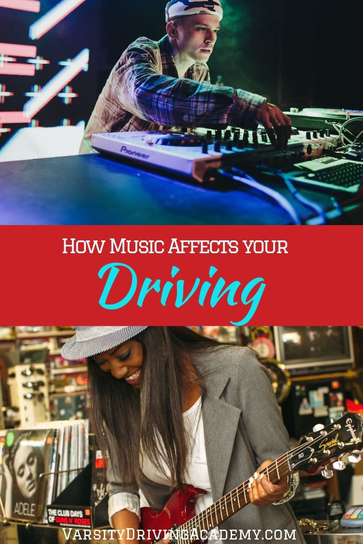 You should know how music affects your driving so that you can be better prepared to stay safe while listening to music behind the wheel.