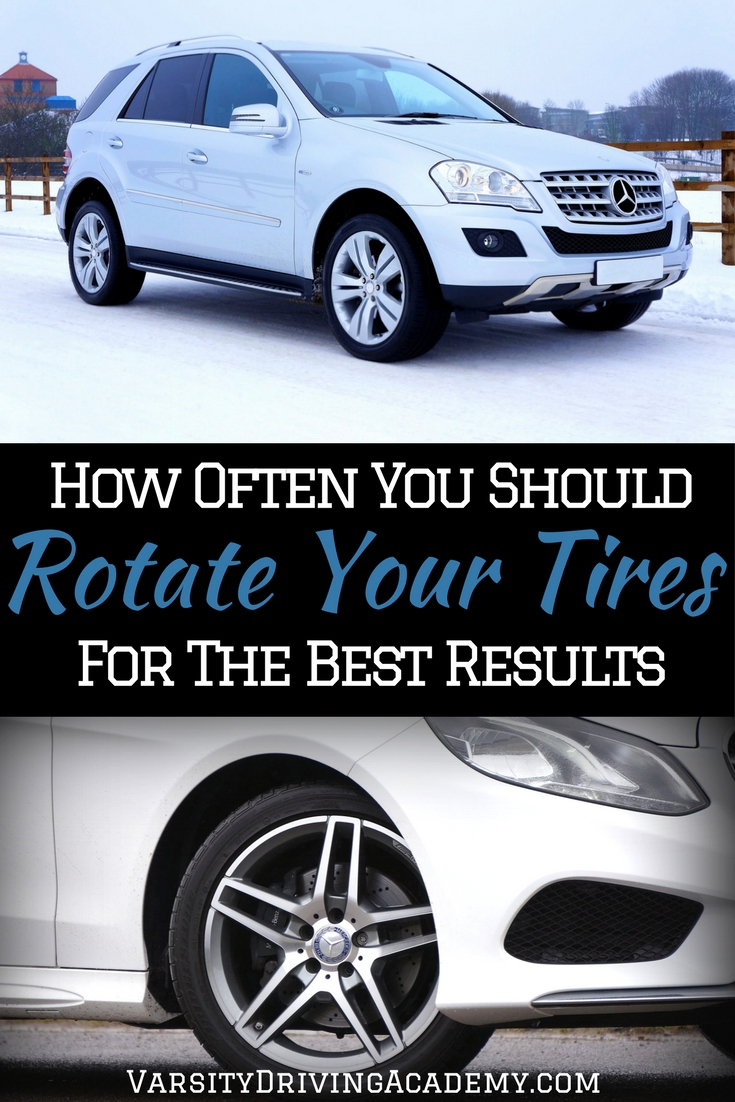 Knowing when to rotate your tires is just as important as knowing how to do it, especially if you want to keep your car running as smoothly as possible.