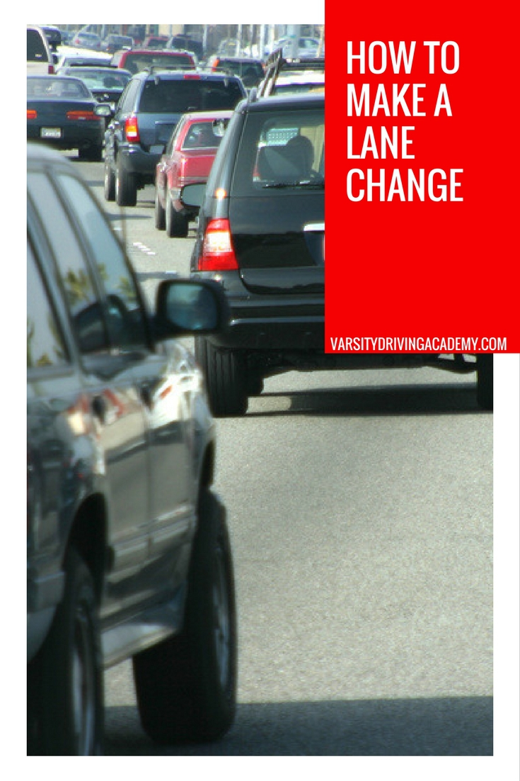 Making a lane change is imperative to getting around town, a city or driving on the freeway or highway and so is knowing how to do it correctly and safely
