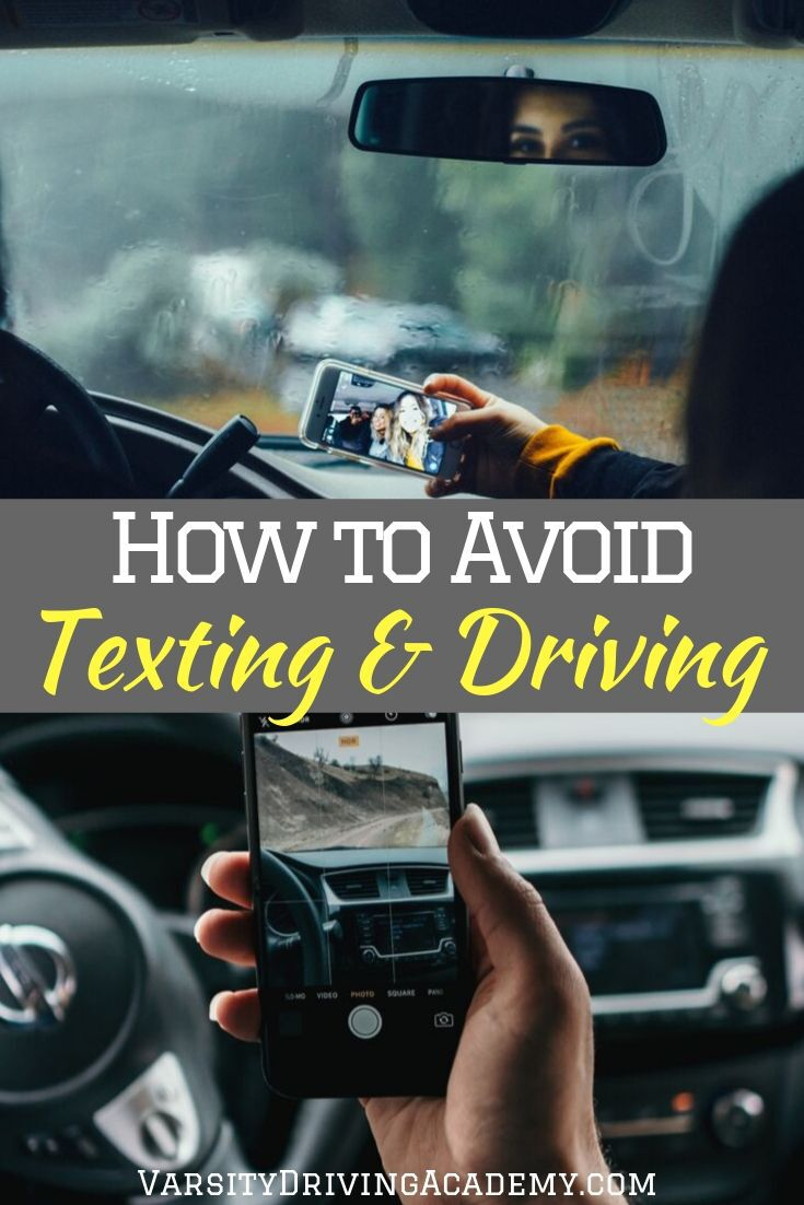 Once we learn how to avoid texting while driving we can become safer drivers and lower the number of accidents and deaths per year.