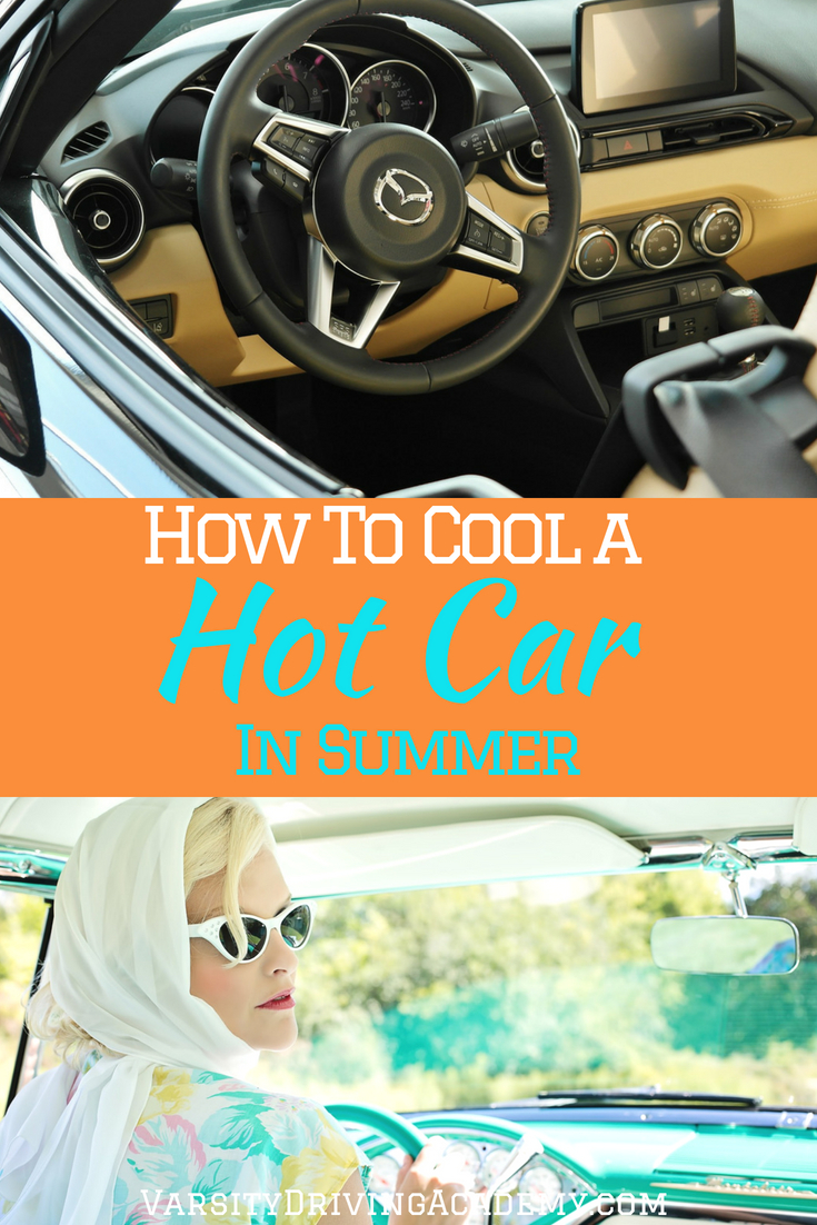 Know how to cool down a hot car in summer so you can get in and on your way without waiting for the air conditioning to fully cool your vehicle.