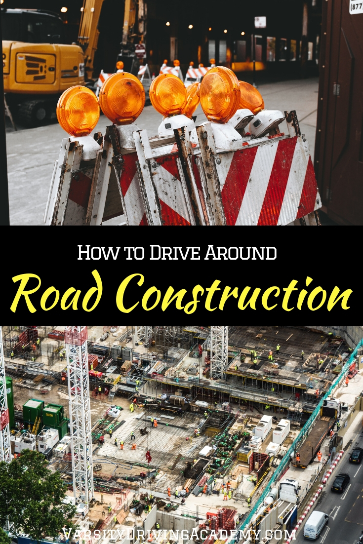Make sure you know how to drive around road construction so you can keep yourself and the men and women working on the roadway safe.