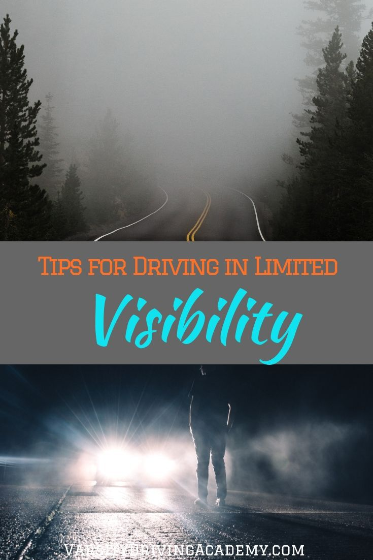 You can learn how to drive with limited visibility so that you can keep yourself safe and avoid an accident due to your visibility.