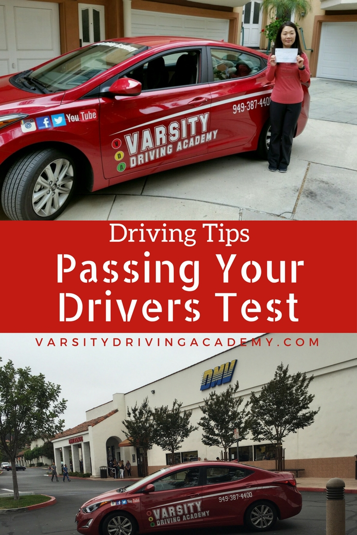Driving Tips to Pass Driving Test - Varsity Driving Academy