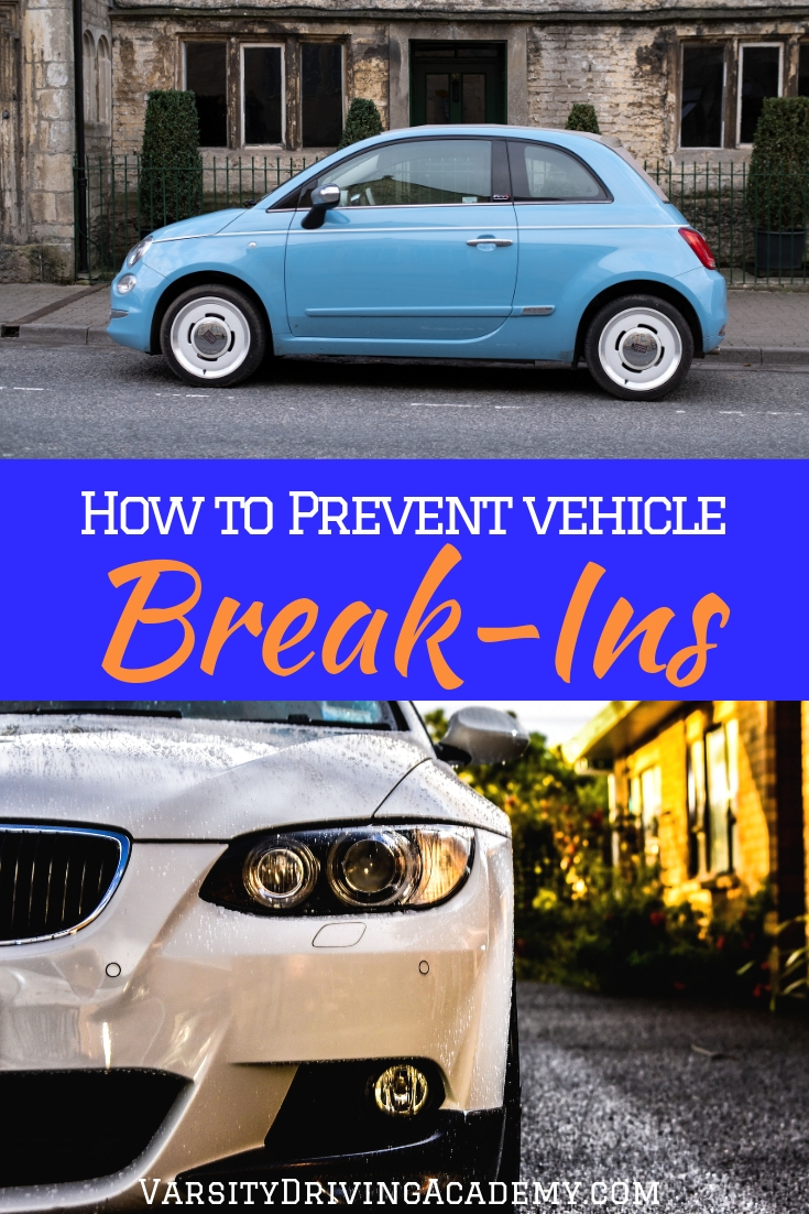 Do you want to know how to prevent vehicle break-ins? There are a few tips and tricks that could help keep your car safe.