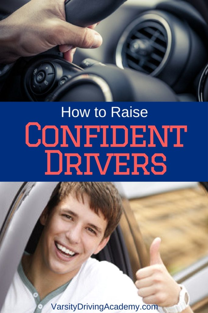 Raising confident drivers means we need to be confident drivers ourselves and that it's OK to have a little help along the way.