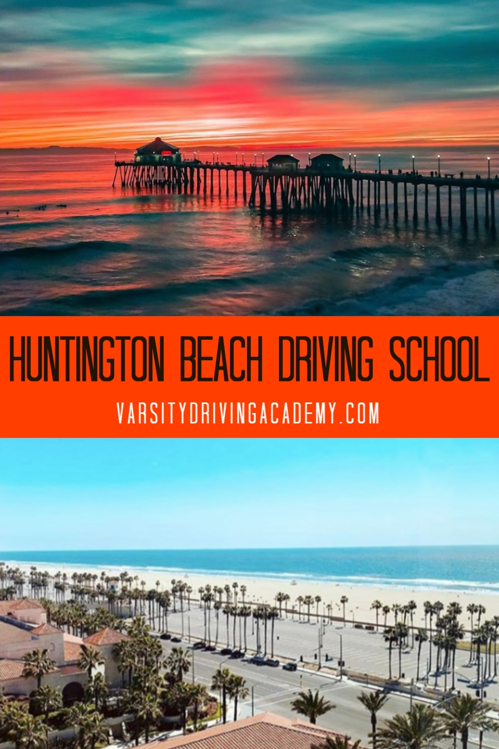 Varsity Driving Academy is the best Huntington Beach driving school offering defensive drivers ed for teens as well as the best driving lessons for adults and teens in Huntington Beach.