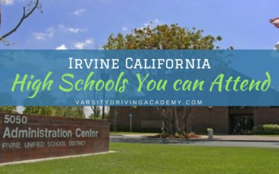 Irvine California High Schools you can Attend
