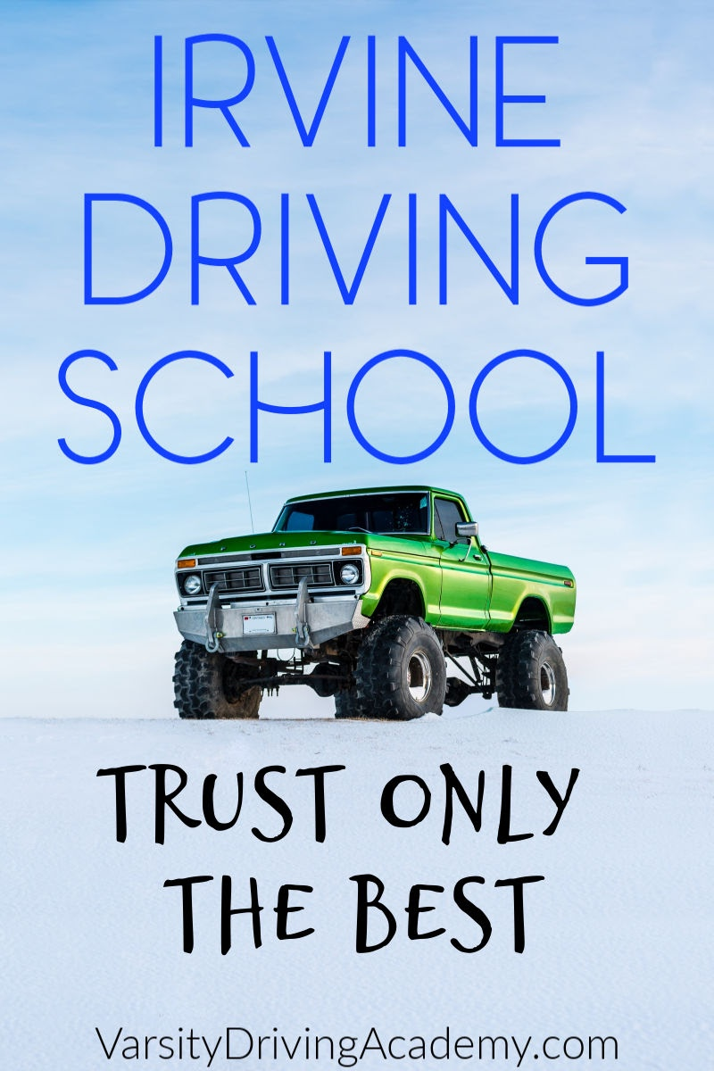 Varsity Driving Academy is the top rated driving school in Irvine for over 9 years. Choose only the best for your driver's training from the most trusted Irvine Driving School, Varsity Driving Academy.