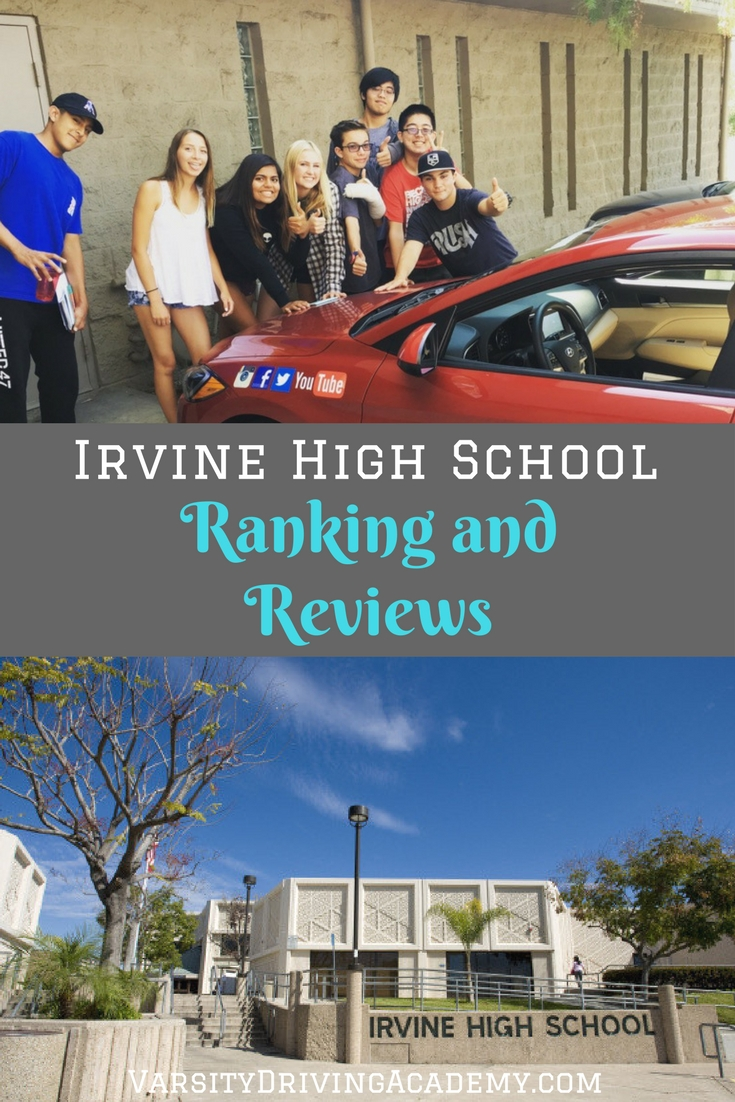 Irvine High School has long been loved by locals and being recognized as a top school is nothing new to Irvine California.