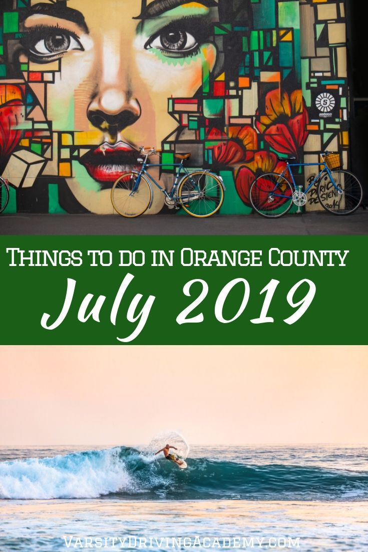 Get out and enjoy the summer weather with some of the best July 2019 things to do in Orange County that the entire family will enjoy.