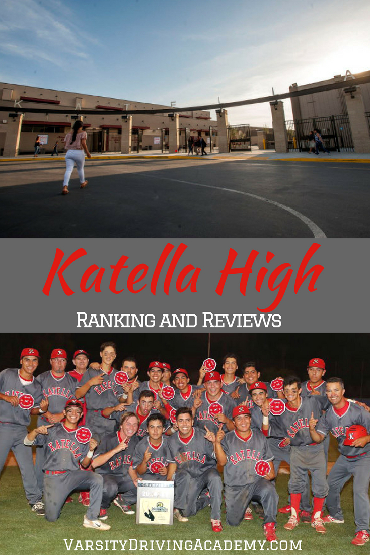 When parents and schools know their ranking they can work to improve the system and Katella High School ranking and reviews will certainly bring an action.