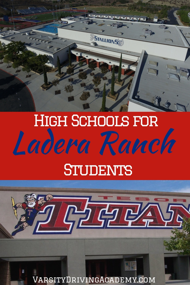 Ladera Ranch high schools continue the amazing quality found in just about every aspect of the beautiful Ladera Ranch community.