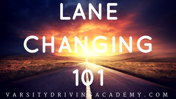 How To Make A Lane Change