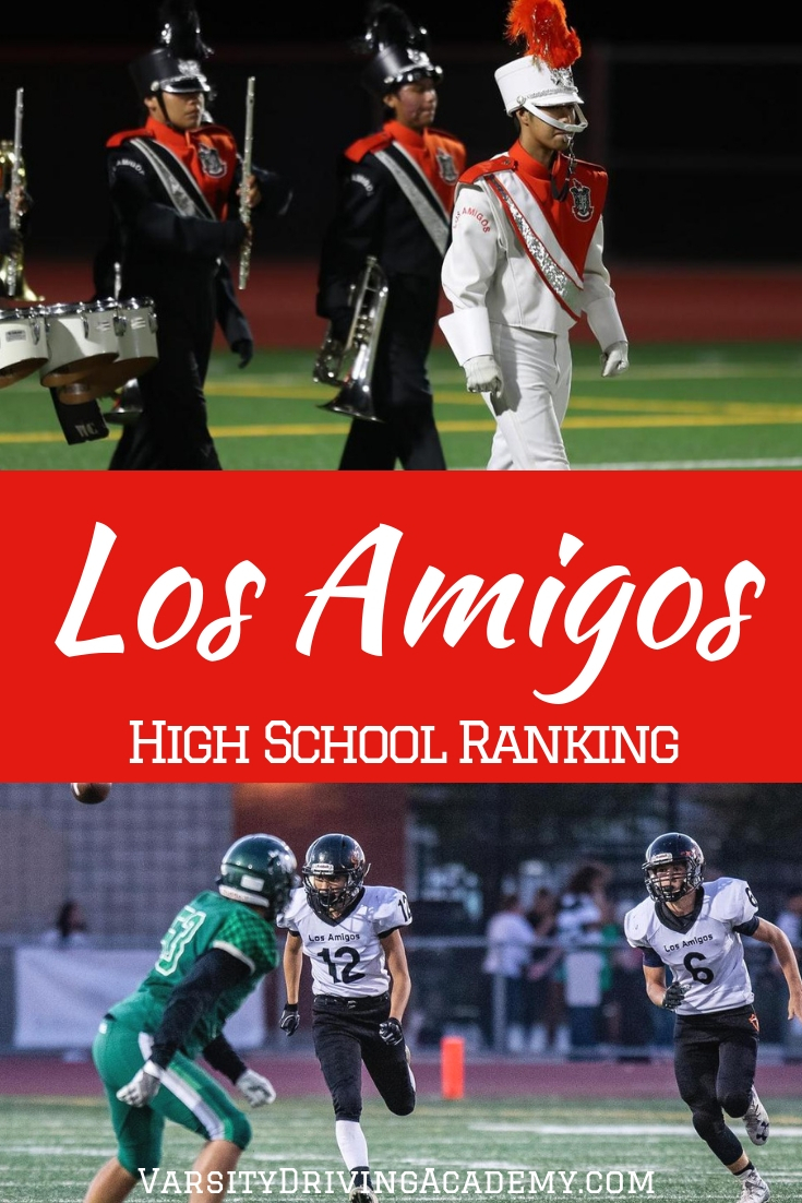 The Los Amigos High School ranking will help parents, students and even faculty know where things can be improved and learn how to improve them.
